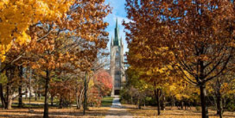 Middlesex College in Fall